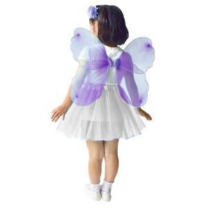 ファンシーなちょうちょの羽 紫 / 蝶々 はね
