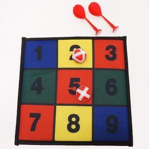簡単面白ゲーム マジックテープ式の四角のダーツ / お手軽 パーティ/動画有|event-ya