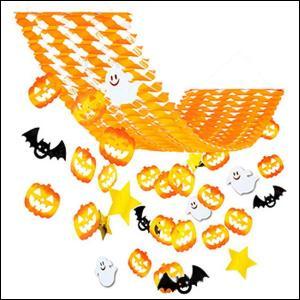 ハロウィン装飾 パンプキン&ホラーハンガー L150cm|event-ya