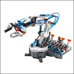 6つの関節が動く、水圧式ロボットアーム工作キット [動画有り]|event-ya
