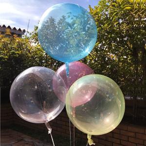 シャボン玉のような透明風船 直径50cm / バルーン ディスプレイ 飾り /メール便可|event-ya