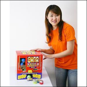 押すと出てくるガチャカプセルボックス おもちゃ入りガチャカプセル50個付 [動画有り]|event-ya