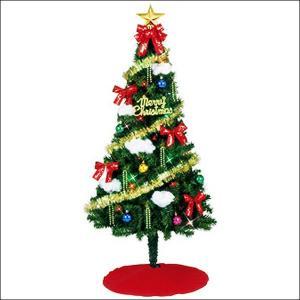 クリスマスツリーセット シャイニースター 180cm(オーナメント付) / 装飾 ディスプレイ 飾り|event-ya