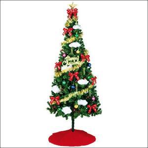 クリスマスツリーセット シャイニースター 210cm(オーナメント付) / 装飾 ディスプレイ 飾り|event-ya