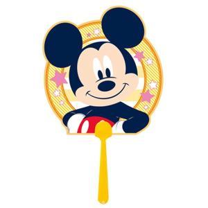 まんがキャラクターダイカットうちわ(10枚) ミッキーマウス / アニメ マンガ 漫画 団扇|event-ya