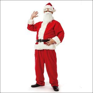 サンタコスチューム メンズサンタクロースDX / クリスマス コスプレ 衣装 パーティー|event-ya