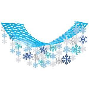 ウインター装飾 ミックススノーハンガー L180cm / 冬 雪 ディスプレイ 飾り|event-ya