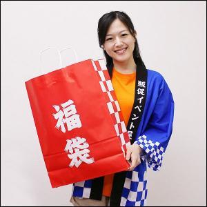 福袋販売用紙製福袋 H50cm (50枚)|event-ya