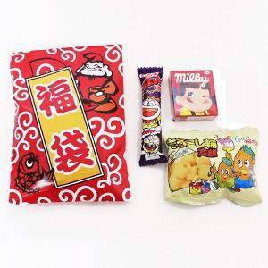 お菓子付き カラーえびす紙製福袋 H28×W18cm 50個 [お正月 景品 粗品 初売り]|event-ya