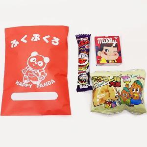 お菓子付き パンダ紙製福袋 H28×W18cm 50個 [お正月 景品 粗品 初売り]|event-ya