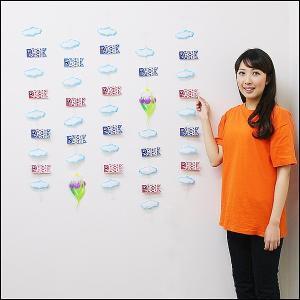 子供の日装飾 鯉のぼりライン5本セット L100cm / こいのぼり 飾り|event-ya