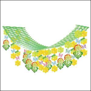 春の装飾 菜の花と蝶々ハンガー L180cm / 飾り ディスプレイ|event-ya