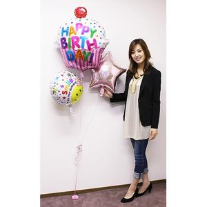 誕生日デコレーションバルーン ビッグカップケーキ 【バースデーバルーン】|event-ya
