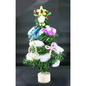 クリスマス手作り工作キット 高さ約30cm 手作りクリスマスツリー作り 1個|event-ya