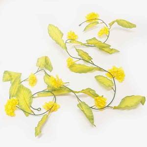 春の装飾 菜の花ガーランド L180cm/ 動画有|event-ya