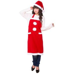 サンタエプロン / クリスマス 衣装 仮装 コスチューム|event-ya
