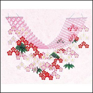 正月装飾 松竹梅ハンガー L180cm|event-ya
