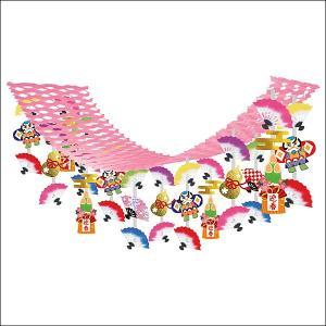 正月装飾 門松と扇奴凧ハンガー L180cm|event-ya