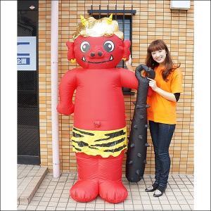 節分装飾 エアブロー 赤鬼 H200cm/ 動画有|event-ya