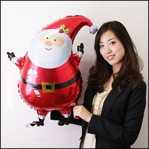 クリスマス装飾風船 サンタバルーンC 45cm/バルーン 飾り デコレーション/メール便可|event-ya