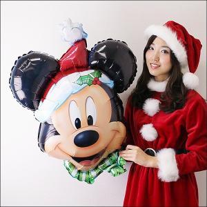 クリスマス装飾風船 ミッキークリスマス H69cm/バルーン 飾り デコレーション/メール便可|event-ya