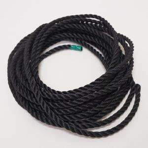 祭りちょうちん用ロープ φ9mmPEロープ黒 15m / 提灯 お祭り 縁日|event-ya