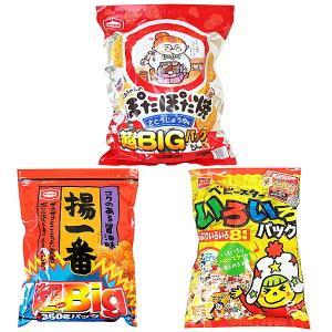 特大お菓子・駄菓子3種類セット ベビースターラーメン ぽたぽたやき 揚一番 H39cm〜H43cm|event-ya