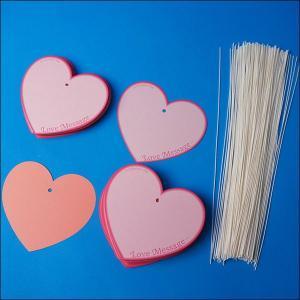 バレンタイン願い事カード(200枚) こより200本付 [動画有り]|event-ya|02