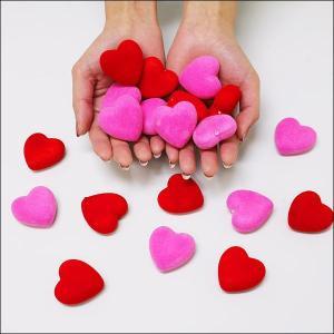 バレンタイン装飾 スチロールハート ピンク10個 赤10個 計20個|event-ya