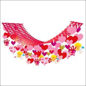 バレンタイン装飾 エンゼルハートハンガー L180cm|event-ya