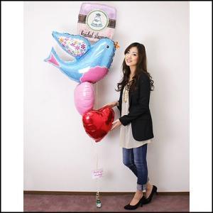 【結婚祝い】ウエディングバルーンギフト ハッピーブルーバード [大型商品160cm以上]|event-ya
