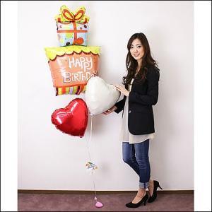 誕生日デコレーションバルーン スィートプレゼント 【バースデーバルーン】|event-ya