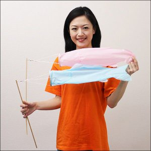 色塗り絵付 こいのぼり 45cm 50個 / 手作り工作 工作イベント [動画有り]|event-ya