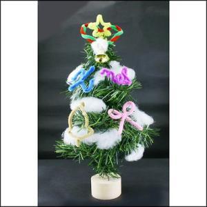 クリスマス手作り工作キット 高さ約30cm 手作りクリスマスツリー作り 10個|event-ya