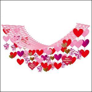 バレンタイン装飾 ラブリーギフトハンガー L180cm|event-ya