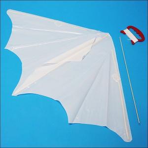 組立簡単 お絵描き70cmぐんぐん凧 [ビニール製] 10個|event-ya