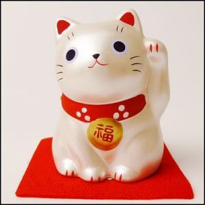 福おいで招き猫 銀|event-ya