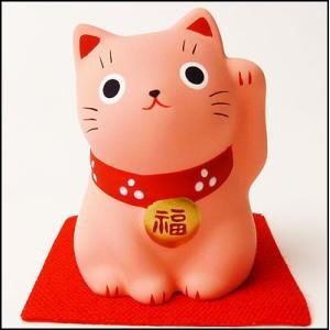 福おいで招き猫 桃|event-ya