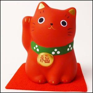 福おいで招き猫 赤|event-ya