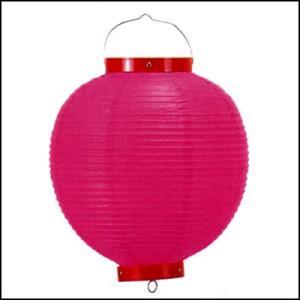カラービニール提灯・ちょうちん ピンク / お祭り・縁日・装飾|event-ya