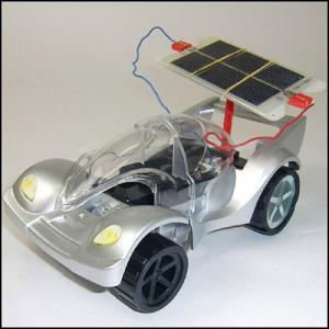 モーターソーラーカーELEC (太陽電池付・発電機付) [動画有り]|event-ya