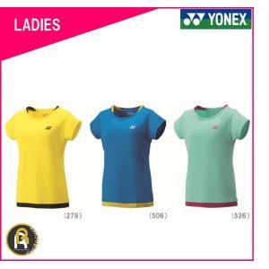 【お買い得商品】ヨネックス YONEX バドミントン ソフトテニス Tシャツ ウェア WOMEN レディース 16348