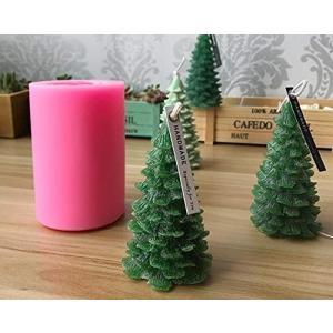 クリスマスツリー 大 立体 クリスマス シリコンモールド サンダクロース レジン アロマストーン 手作り 石鹸 キャンドル 樹脂 粘土 オルゴナイト 型 抜き型