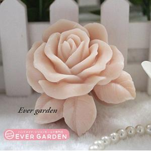 花  バラ 薔薇 シリコンモールド  アロマハイストーン  手作り 石鹸  樹脂 粘土  レジン  シリコン モ