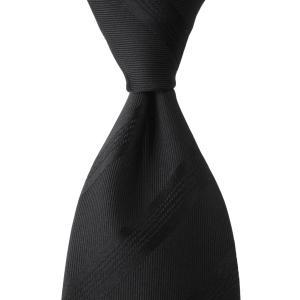 ネクタイ シャドウ ストライプ ソリッド フォーマル シルク 日本製 プレゼント ギフト お誕生日 記念日 ブラック|evergrays