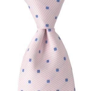 PERSONALITY パーソナリティ ネクタイ 小紋 シルク ITALY製 プレゼント ギフト お誕生日 記念日 結婚式 ピンク evergrays