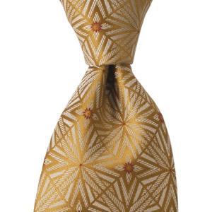 PENROSE ペンローズ(London) ネクタイ クレスト シルク ITALY製 プレゼント ギフト 結婚式 ベージュ|evergrays