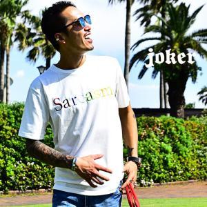 メンズ Tシャツ 半袖 カットソー 大きいサイズ LL xl 秋 秋服 秋物 ロゴ 刺繍 デザイン ...