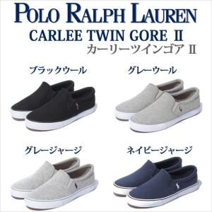 POLO Ralph Lauren ポロラルフローレン CARLEE TWIN GORE メンズ スリッポン スニーカー レディース スリッポン スニーカー 正規代理店商品