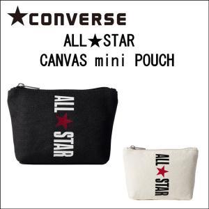 CONVERSE コンバース ミニポーチ コットンキャンバス 小物入れ バッグインバッグ メンズ レディース 14030900 co18014 (レディーストート、ブランドバッグ) evermall